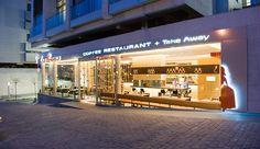 Fachada del restaurante las meninas, iluminación, restaurant, project,