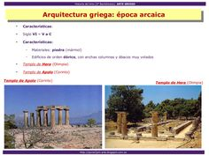 Arte Griego Greek Art, Art History, Temple