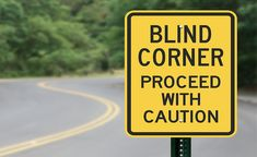 Learning to ride a motorcycle comes with many challenges. Here's our new rider guide on how to navigate blind turns on your motorcycle. Motorcycle Tips, Blinds, Train, News, Biker, Roller Shutters, Blind, Draping, Trains