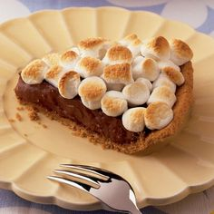 Smore Pie - but this recipe is too complicated...can just make Jello pudding pie in graham crust then end w/the marshmallows on top broiler!