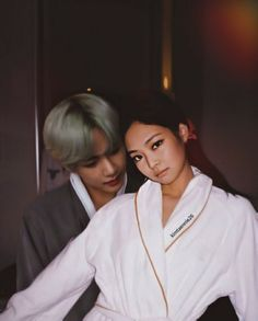 Sweet Night, Kpop Couples, Blackpink And Bts, Kim Jennie, Ulzzang, Taehyung, Boys, Instagram, Army