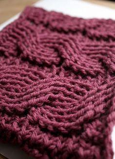 Crochet Cables Free Pattern Crochet Cable, Crochet Home, Knit Or Crochet, Crochet Crafts, Crochet Projects, Free Crochet, Crocheted Scarf, Crocheted Afghans, Crochet Tutorials