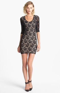 Lovers + Friends 'Sway' Lace Body-Con Dress available at #Nordstrom