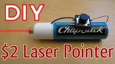 How to Make a Laser Pointer Hobby Electronics, Electronics Projects, Homemade Tools, Diy Tools, Diy Laser Cutter, Cell Phone Hacks, Diy Crossbow, Teen Life Hacks, Diy Tech