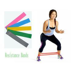 Unisex banda de resistencia de bucle light/med/heavy ejercicio deportes yoga ejercicio tubo de correa