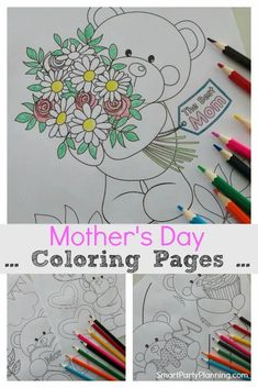 Free printable mother's day coloring pages for kids. Great for preschool, toddlers, or primary school aged kids. Kids love coloring and moms love to receive it. It's a win win for an easy mother's day gift. Available as both mom and mum Homemade Gifts For Mom, Diy Gifts For Kids, Grandparents Day Crafts, Mothers Day Crafts, Mother Day Gifts, Mothers Day Coloring Pages, Coloring Pages For Kids, Mother's Day Colors, Perfect Mother's Day Gift