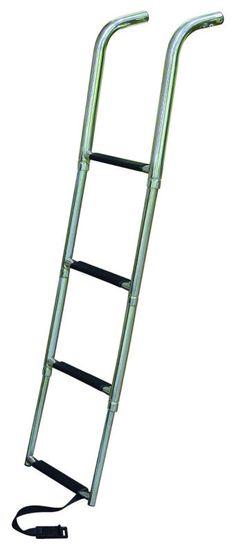 JIF - ETC4 ~ 4-STEP STAINLESS 316 TELESCOPING DROP LADDER UNDER [ETC4] - $114.28 : Boat Ladders - Pontoon Boat Ladder - Dock Ladders for Less, Boat-Ladders-Store.com