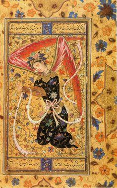Angel, Persian Art | un•