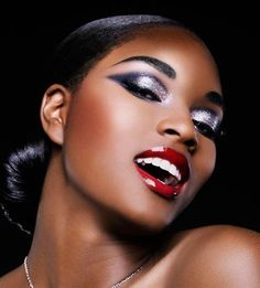 Black Makeup Looks: Best Blush For Your Skin Tone