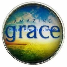 Amazing Grace Jewelry- Snap 20mm for Snap Charm Jewelry