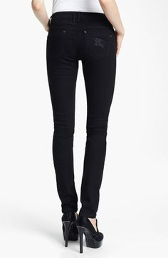 Burberry Brit Skinny Jeans  $225  (these fit great and are SO comfortable)