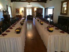 Graduation luncheon inside the Grand Room at the #kellogghouse #venue #reception #indoorreception #luncheon