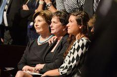 First Lady Laura Bush, Nancy Jones (George Jones Memorial Service - 2013)