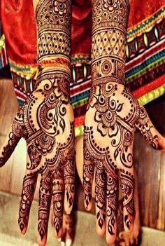 b44b63b35e stylish wedding mehndi new pattern Latest Bridal Mehndi Designs