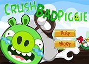 Bad Piggies Crush Angry | Juegos Angry Birds - jugar online