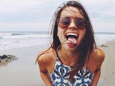 ideas para tomarse fotos en la playa lengua