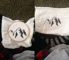 Mountain Embroidery {Wildblumen}
