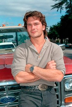 Patrick Swayze: Actor best known for his roles in 'Dirty Dancing' and 'Ghost' Boy Celebrities, Hollywood Celebrities, Hollywood Cinema, Lisa Niemi, Jennifer Grey, Actors Images, Dirty Dancing, Celebrity Crush, Diet