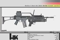 Heckler and Koch G36 with AG36 by Gasteiz on DeviantArt Find our speedloader now!  www.raeind.com  or  http://www.amazon.com/shops/raeind