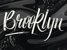 Brooklyn Lettering in My Work