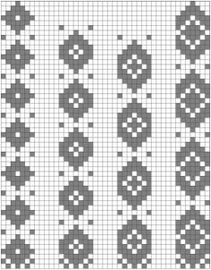 If you're new to pick-up weaving, you'll find that the more you understand about pattern charts, the more relaxed and efficient you can be as you weave. Plus, it's fun to create y…