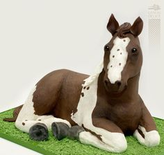 9th Birthday Cake, Horse Birthday Parties, Horse Birthday Cakes, Cowboy Birthday, Cake Paris, Farm Cake, Horse Cake, Horse Party, Grands Parents