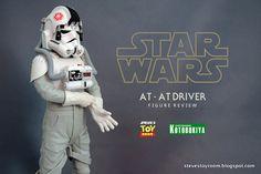 Steve's Toy Room: Kotobukiya ARTFX+ AT-AT Driver Figure Review
