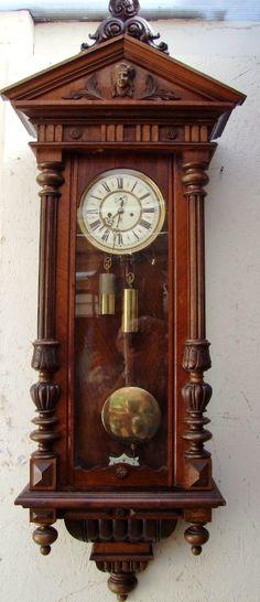 Zegar wiszący Gustav Becker z 1900 r.