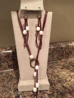 Leather -n- Pearls