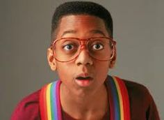 "Jaleel White has worked very hard to leave Steve Urkel in the but a character that great just can't die. Although ""Family Matters,"" to. Halloween Costumes Glasses, Costumes With Glasses, Halloween Costumes For Kids, Steve Urkel, Films Youtube, Jaleel White, Kids Glasses, The Right Stuff, 90s Nostalgia"