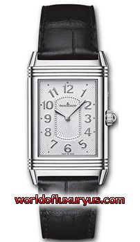 Q3308421 - This Jaeger LeCoultre Grande Reverso Womens Watch, Q3308421 features 40mm Stainless Steel case, Silver dial, Silver-toned hands, Sapphire crystal, Fixed bezel and a Black Leather Strap. - See more at: http://www.worldofluxuryus.com/watches/Jaeger-LeCoultre/Reverso-Grande/Q3308421/219_257_8407.php#sthash.4GDunZQS.dpuf
