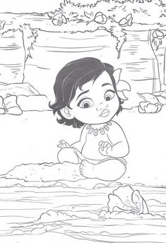 Moana Coloring Pages Disney Awesome Pin by Safa On Coloring Pages Moana Coloring Pages, Toy Story Coloring Pages, Mickey Mouse Coloring Pages, Disney Princess Coloring Pages, Disney Princess Colors, Cute Coloring Pages, Coloring Books, Cool Art Drawings, Disney Drawings