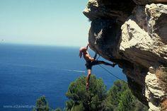 Palma de Mallorca rock climbing. #MeetTheMoment
