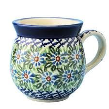 Polish Pottery Bubble Mug- we have these and love them!