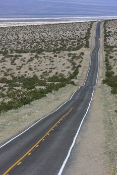 Highway to Death Valley, California