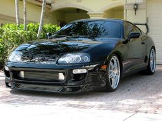 SW's 98' Toyota Supra with some tasteful mods