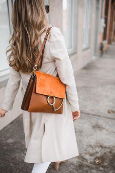 Styling winter neutrals style to love fashion, faye bag 및 ba Chloe Bag, Sac Chloe Faye, Faye Bag, Clothing Staples, Wardrobe Staples, Look Fashion, Fashion Bags, Diva Fashion, Fall Fashion