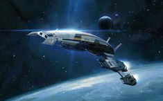Mass Effect 2 Art & Pictures Normandy
