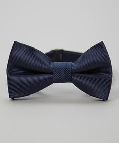 Another great find on #zulily! Navy Blue Bow Tie by Born to Love #zulilyfinds