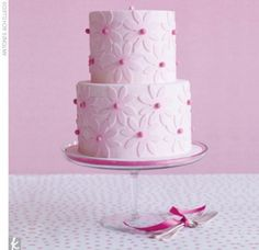 This would be so lovely for a little girls' birthday or a christening/baptism.
