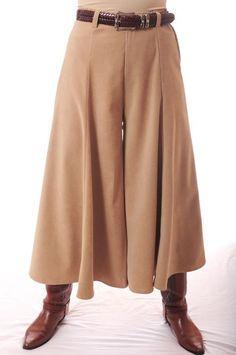 d470fad8c13 Western wear for women - Gauchos from Ann N Eve Collection - Plus size  western wear