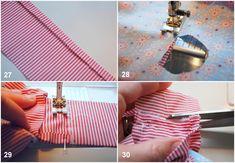 costura almofadas tecido