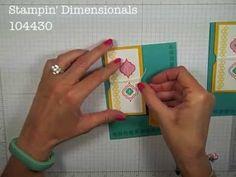 Simply Simple FLASH CARD 2.0 - Mosaic Thank You by Connie Stewart