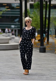 Jumpsuit for the win at ONE Plaza in downtown Greenville SC // yeahTHATgreenville