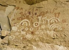 Short Canyon Pictographs & Petroglyphs