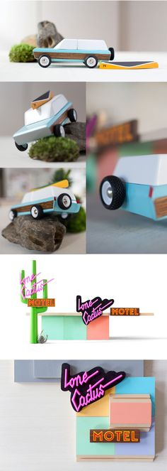 Midcentury Americana - Awesome Wood Toys by Vlad Dragusin + Candylab Toys — Kickstarter