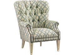 Lexington Lexington Upholstery Wilton Tufted Back Wing Chair   Becker  Furniture World   Wing Chairs