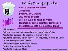 Poulet au paprika au cookéo +
