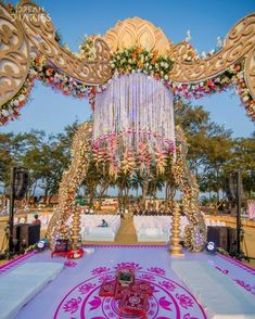 "Decoration by Krayonz Entertainment & Wedding Planners ""Portfolio"" Wedding Decor, Wedding Decoration Idea, Wedding Decoration DIY, Wedding Decorations On a Budget, Wedding in Mumbai #weddingnet #weddingindia #weddinggoa #mumbai #weddingdecorations"