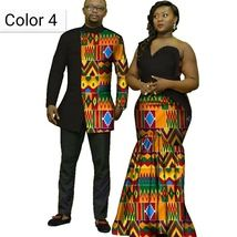 African couple Cotton clothing African ethnic wax printing Skirt and Men's Shirt - African couple Cotton clothing African ethnic wax printing Skirt and Men's Shirt – Men's Clothing Source by - Couples African Outfits, African Dresses Men, African Blouses, Latest African Fashion Dresses, African Print Fashion, African Fashion For Men, African Shirts For Men, African Wear Styles For Men, African Attire For Men